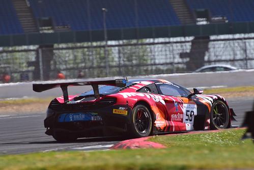 Andrew Watson - Côme Ledogar - Ben Barnicoat, McLaren 650 S GT3, Blancpain GT Series Endurance Cup, Silverstone 2018