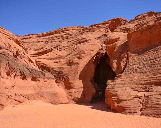 Entrada al Upper Antelope Canyon