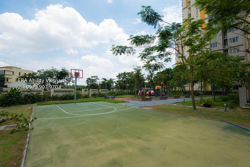 sân bóng rổ Canary Heights