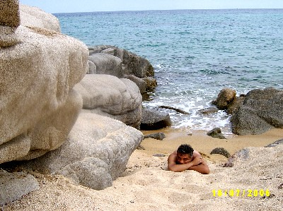 At the beach SV400223 | Nude at a beach at northern Greece ...