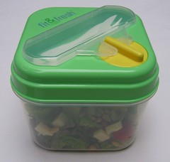 Fit & Fresh salad container (assembled) | by Biggie*