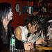 Blood autograph signing