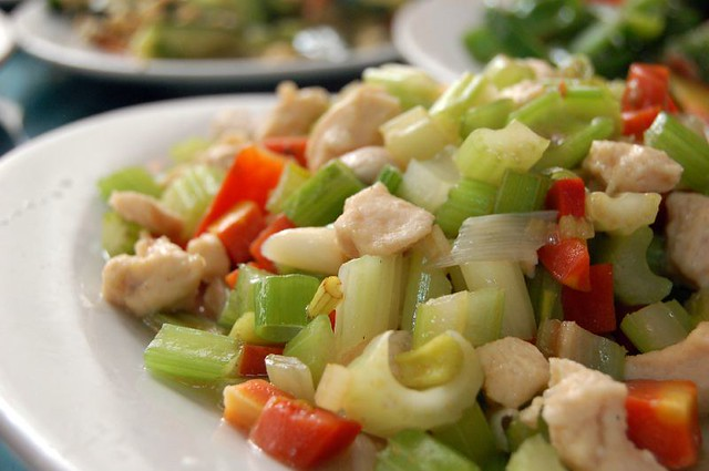 Chicken & celery stir-fry | Nothing special - just (very ten ...