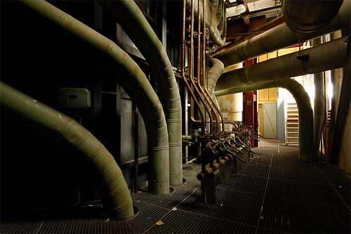 Log Boiler Plant Room