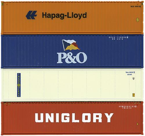 New Trans Am >> Shipping Containers - Hapag-lloyd, P&O, Trans Ocean, Unigl ...