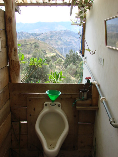 Urinal with a view | by Tamsin&Andy