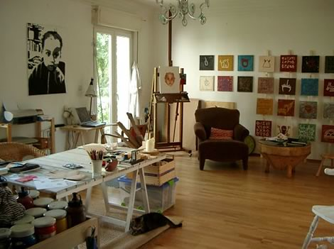 art studio I like | by decor8