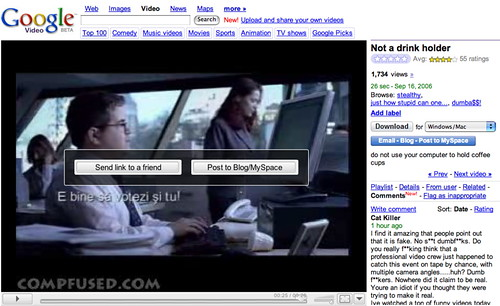 New look of Google Video | by Zengame