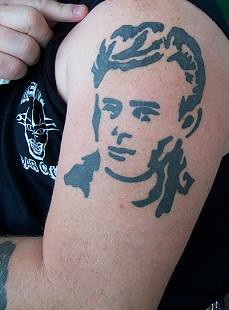 james dean tattoo | by retrolee83
