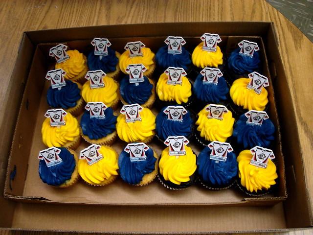 Happy Sabres Cupcakes Sams Club cupcakes RULE Flickr
