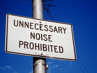 Necessary noise only, please. | by jack dorsey