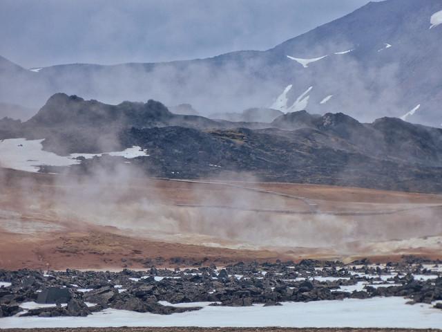 Paisaje del norte de Islandia