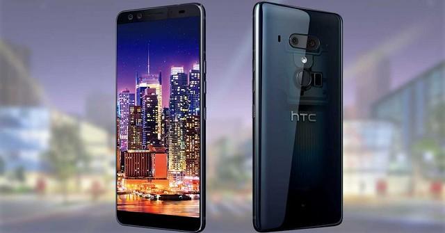 HTC U12+ ya es oficial: trasera semitransparente y cuatro cámaras