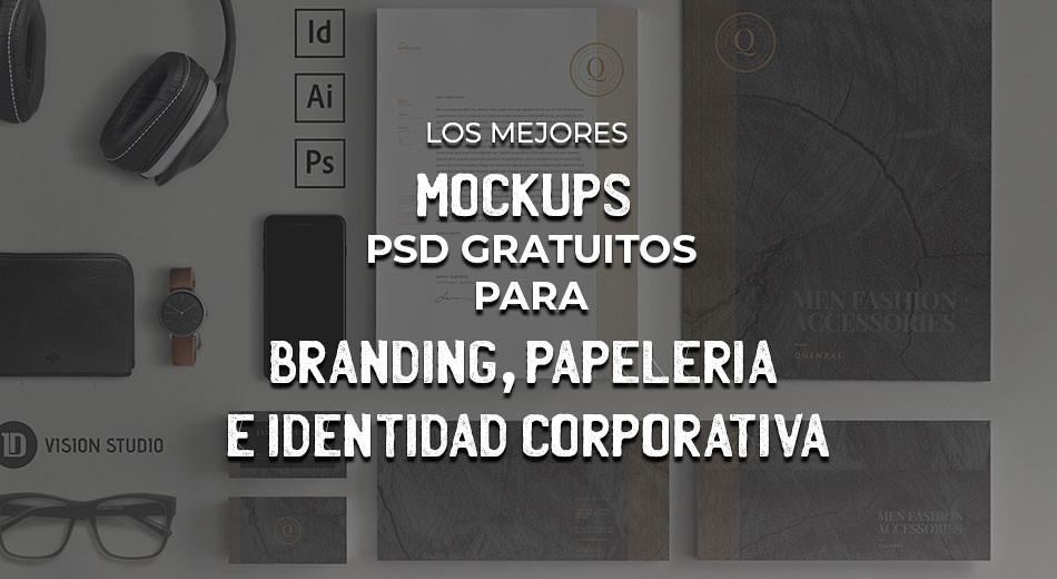 Los Mejores Mockups PSD Gratuitos Para Branding, Papelería E Identidad Corporativa