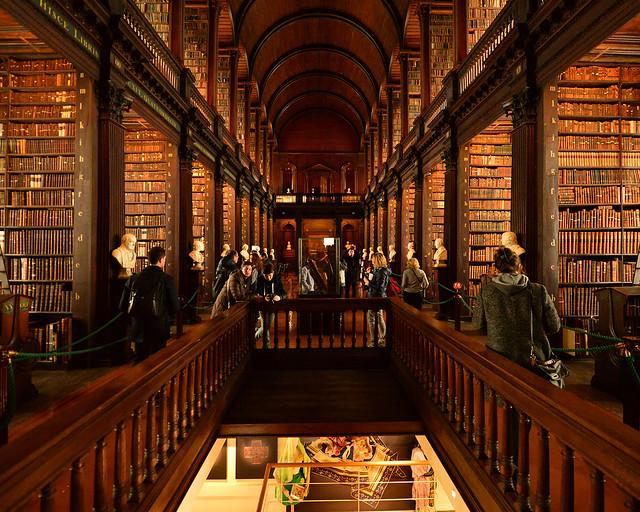 Biblioteca de la Universidad Trinity College de Dublín