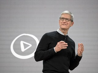 Tim Cook at Apple's Education Event | by andyi