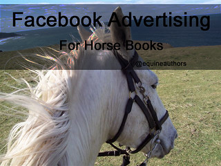 Facebook Advertising for Horse Books @equineauthors