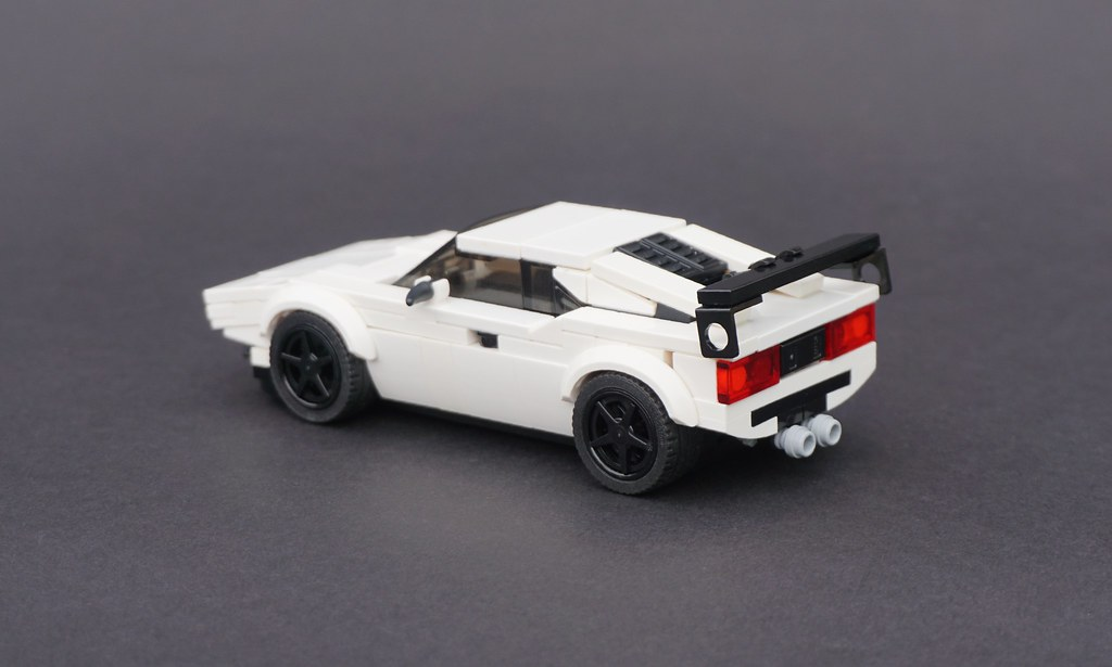 Lego 1980 Bmw M1 02 Between 1978 And 1981 Bmw Produced O Flickr