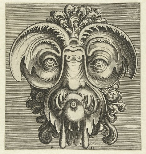 008-Flemish mask designs in the grotesque style 1555- Cornelis Floris- Rijksmuseum | by ayacata7