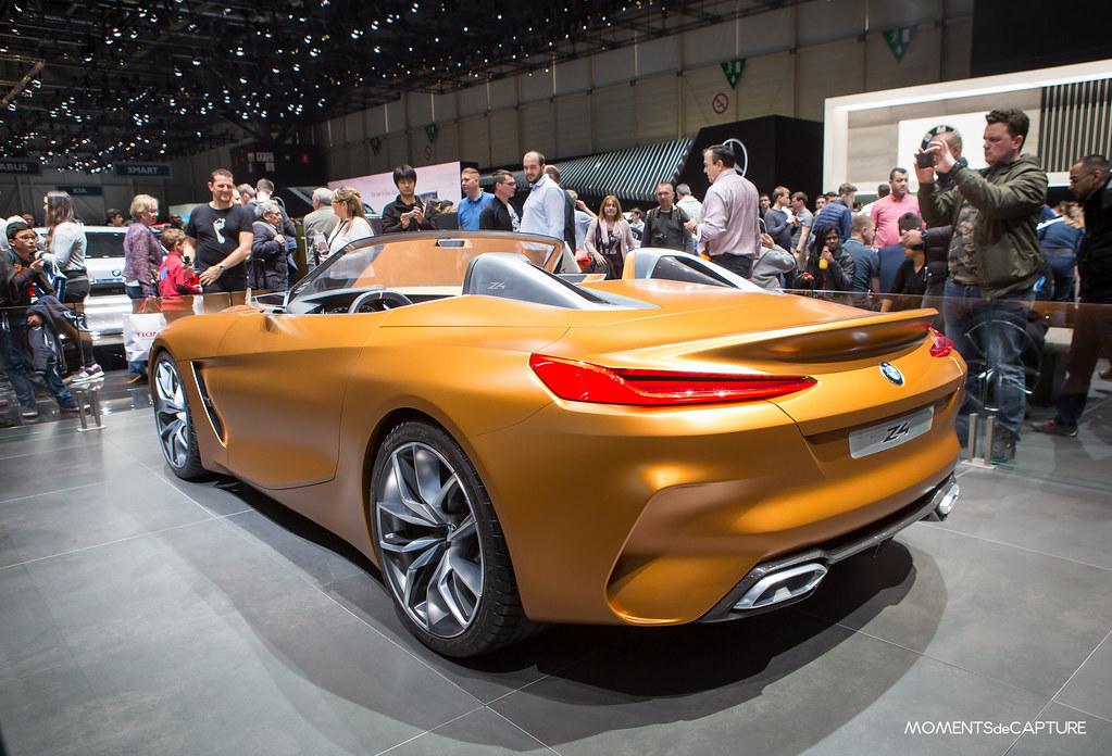 Bmw Z4 Concept Geneva Motorshow 2018 Salon De L Auto De Flickr