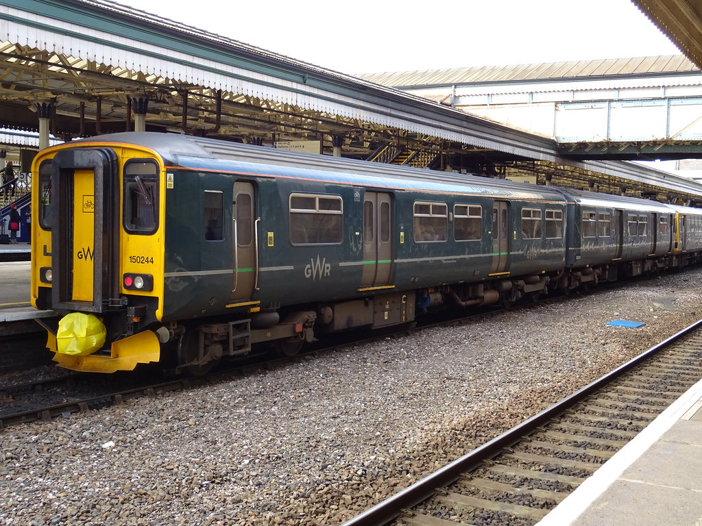 Gwr 150244 Exeter St Davids Great Western Railway Class Flickr