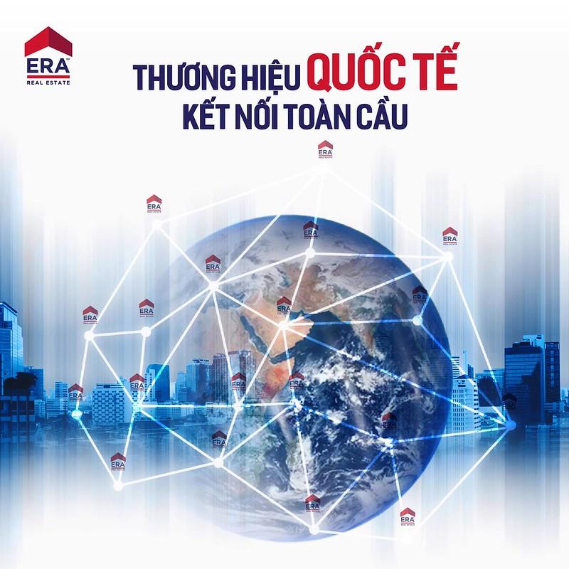 Thương hiệu ERA quốc tế kết nối toàn cầu