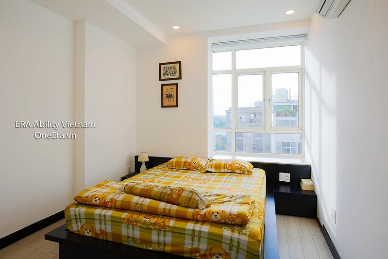 Phòng ngủ nhỏ căn hộ Hoàng Anh Gia Lai