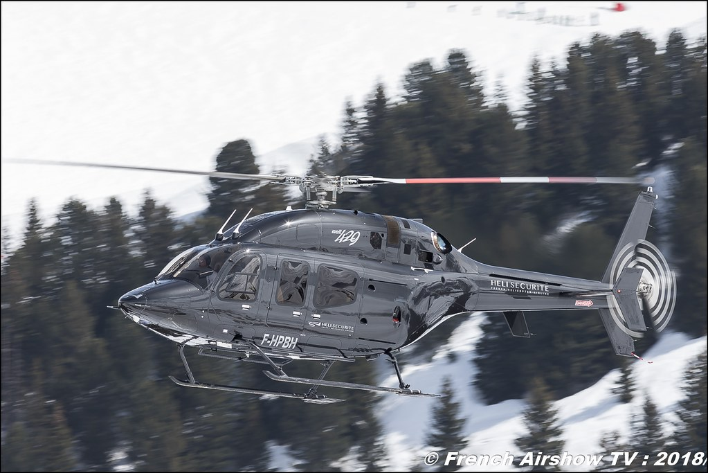 Bell 429 GlobalRanger - F-HPBH , Héli Sécurité , Fly Courchevel 2018 - Altiport Courchevel , Meeting Aerien 2018