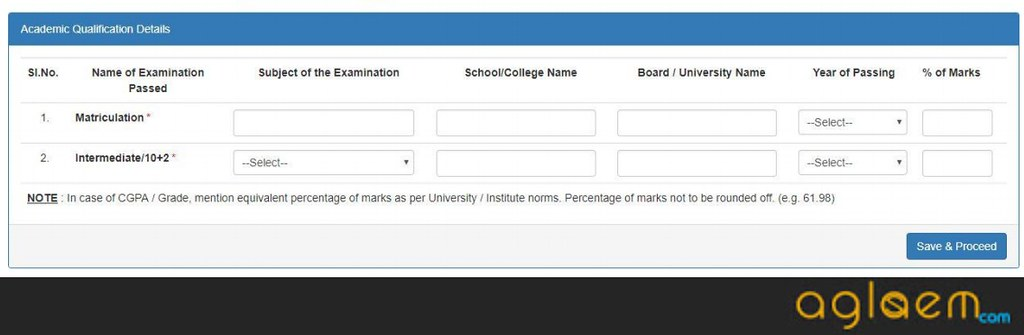 CUCET 2020 Login: Enter application ID and date of birth to login