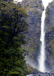 Devils Punchbowl Waterfall - South Island, New Zealand | by neeravbhatt