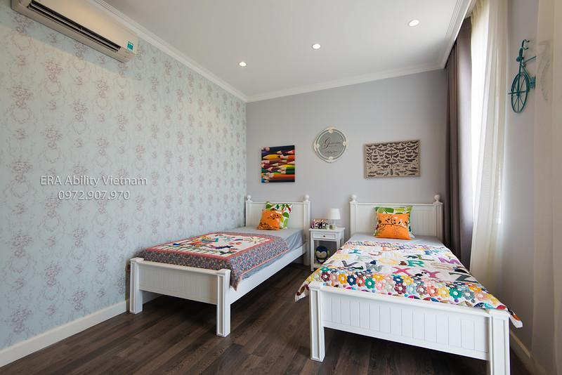 Phòng ngủ trẻ em baby nhà mẫu Biệt thự Villa Park
