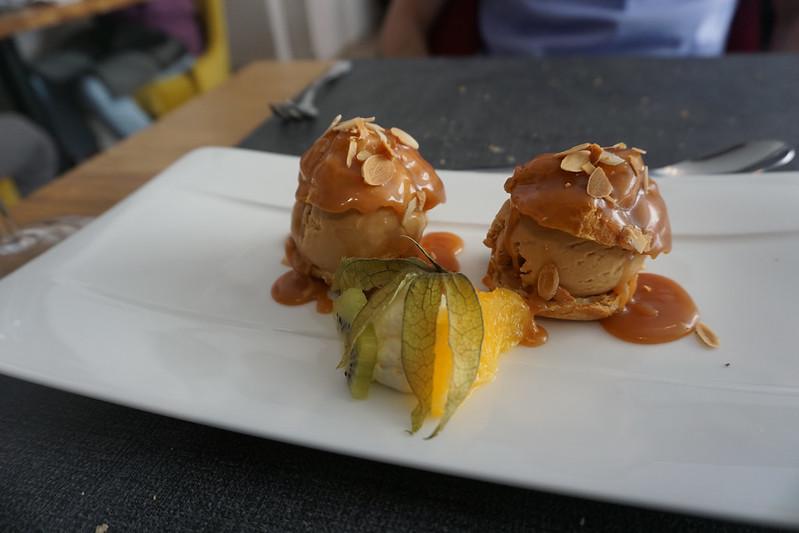 dessert in Dinan