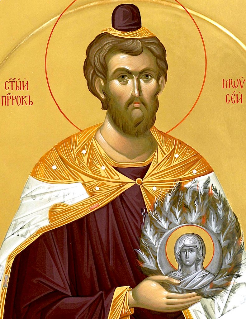 Пророк-Боговидец Моисей.