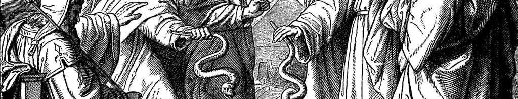 Фараон и змеи.