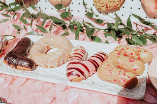 Donut themed bridal shower - donut cake | by Get Kamfortable