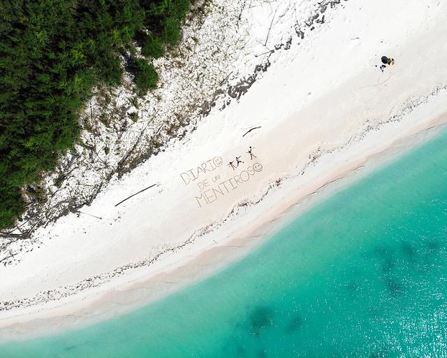 Vista aérea de Cayo Jutías