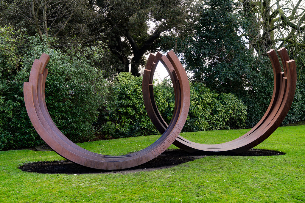 217.5º ARC x 12 by Bernar Venet (Cor-Ten Steel)   005