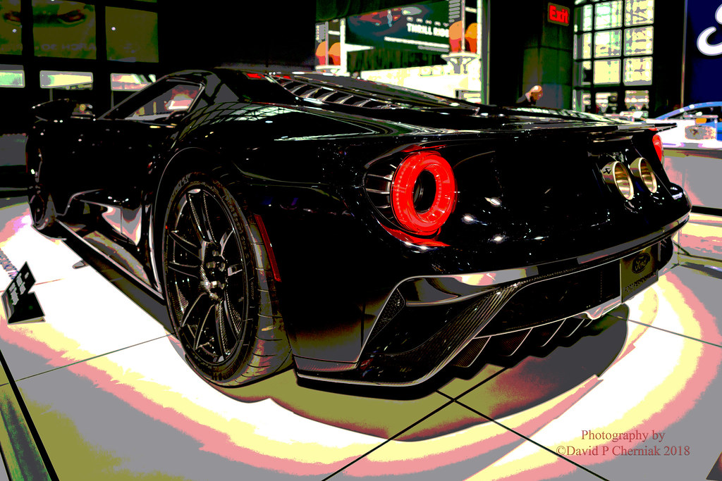 Ford GT Competition Series BlackCarbon Fiber Stripe Flickr - Car show 2018 nyc