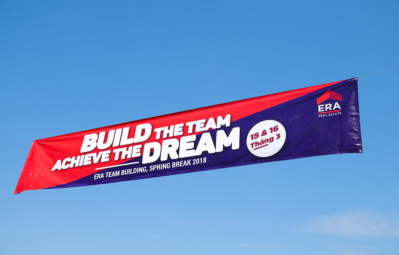 ERA Vietnam Team Building 03-2018 banner Build the team Achieve the dream