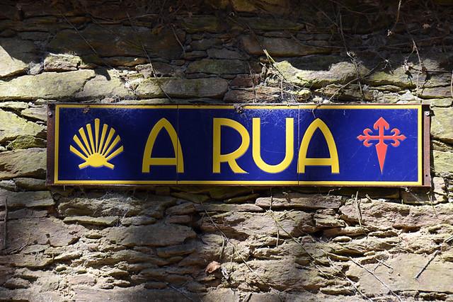 A Rua, Camino de Santiago, Galicia