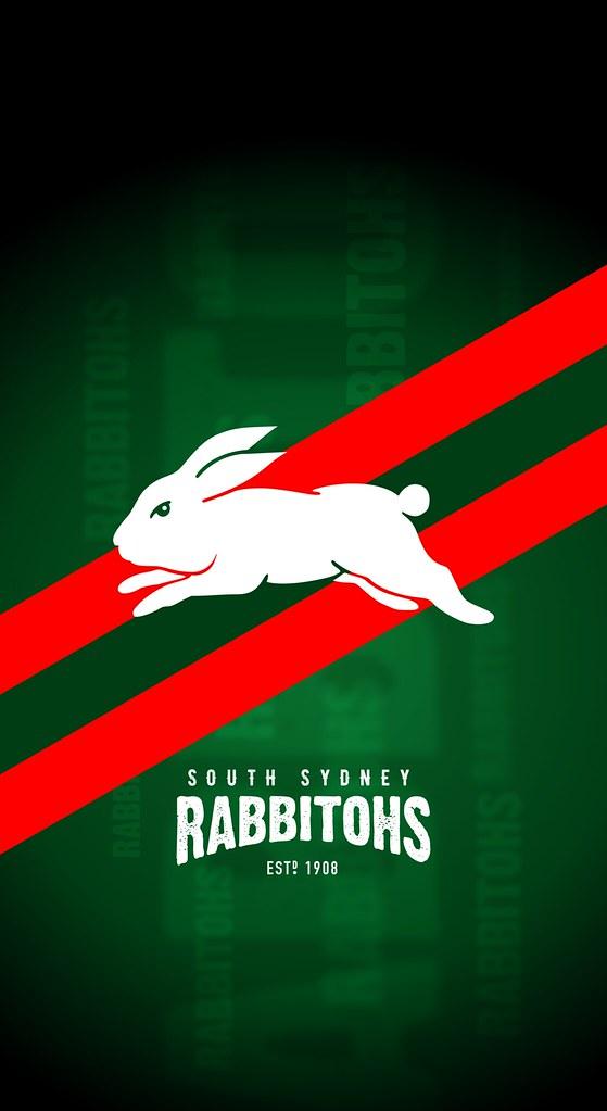 South Sydney Rabbitohs Iphone X Lock Screen Wallpaper Flickr