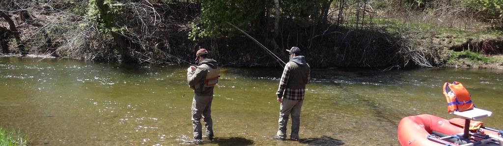 Ontario float fishing and centerpin fishing