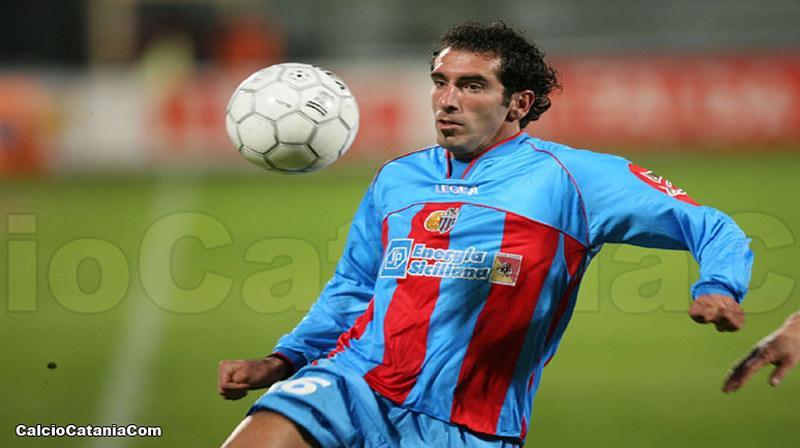 Fabio Caserta, calciatore del Catania tra il 2004 e il 2007