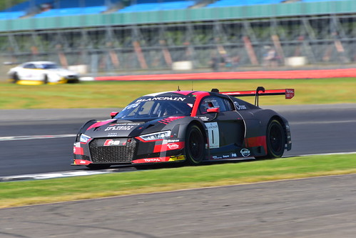 Alex Riberas - Dries Vanthoor - Christopher Mies, Audi R8 LMS, Blancpain GT Series Endurance Cup, Silverstone 2018