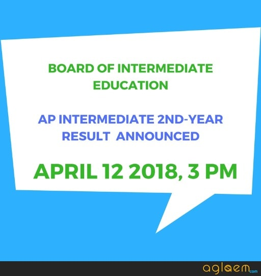 AP Board Class 12 Result 2018 Announced: Andhra Pradesh Inter 2nd Year Results