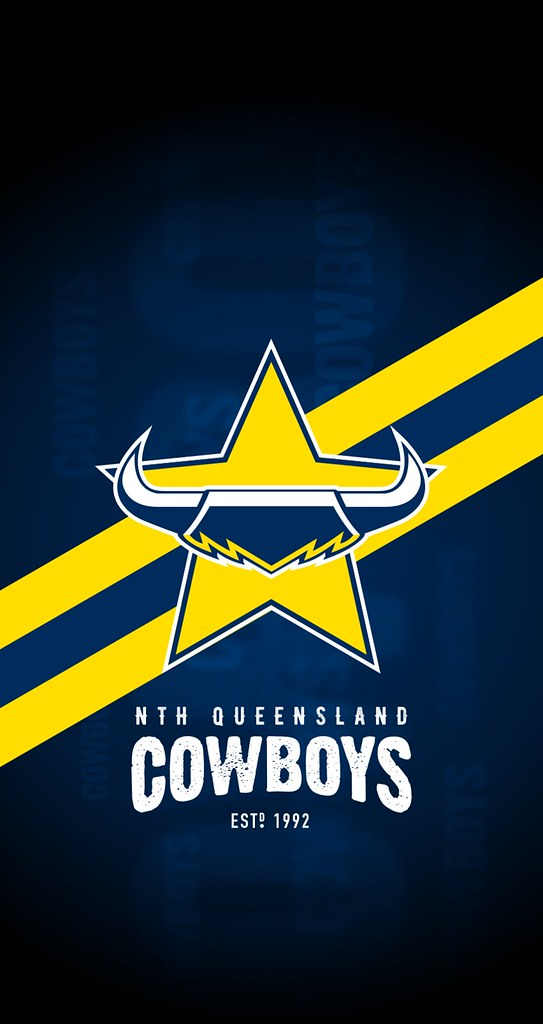 North Queensland Cowboys IPhone 6 7 8 Lock Screen Wallpaper
