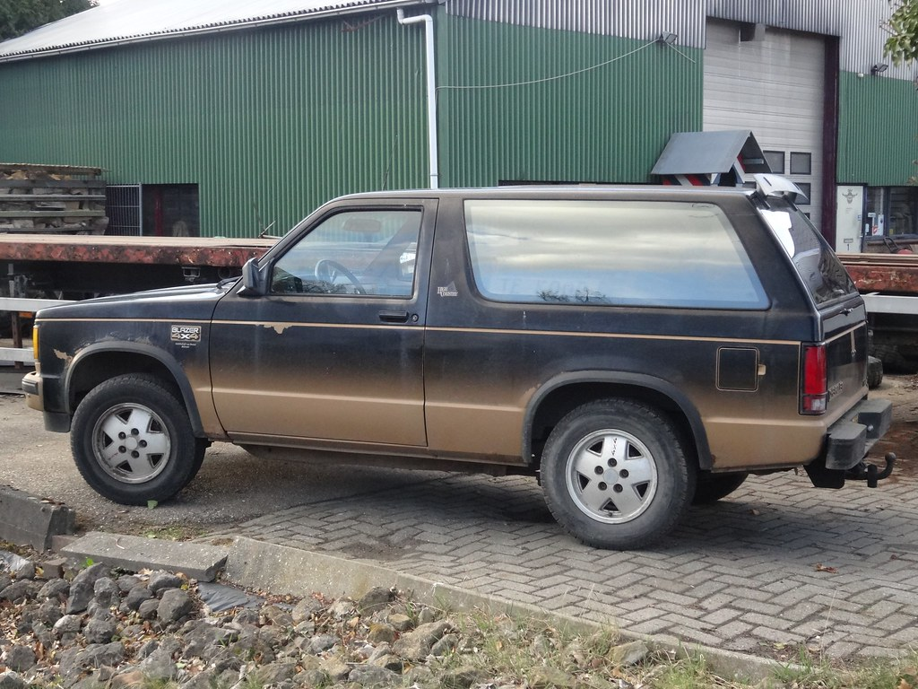 1989 Chevrolet S 10 Blazer 4x4 This Generation Of The Flickr Chevy Car By Harry Nl