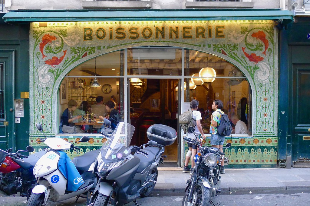 Restaurant Fish La Boissonnerie, Paris