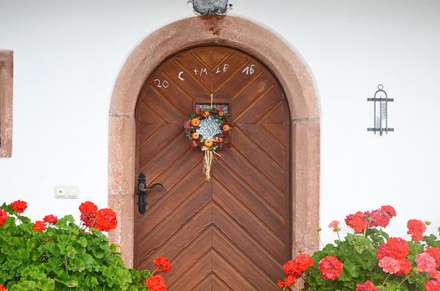 Bavarian door, Germany