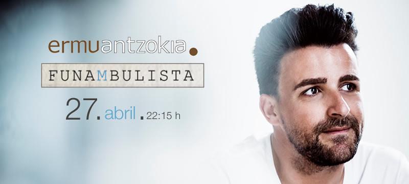 Cartel anunciador del concierto 'Funambulista'